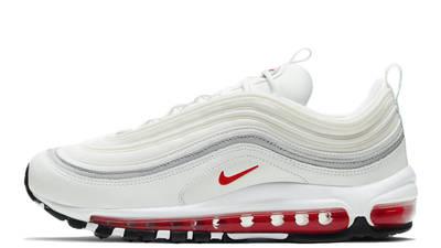 Nike Air Max 97 White Aqua Blue Red