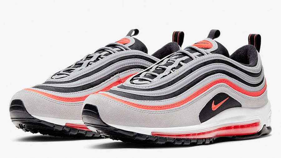 Nike Air Max 97 Wolf Grey Radiant Red DB4611-002 front