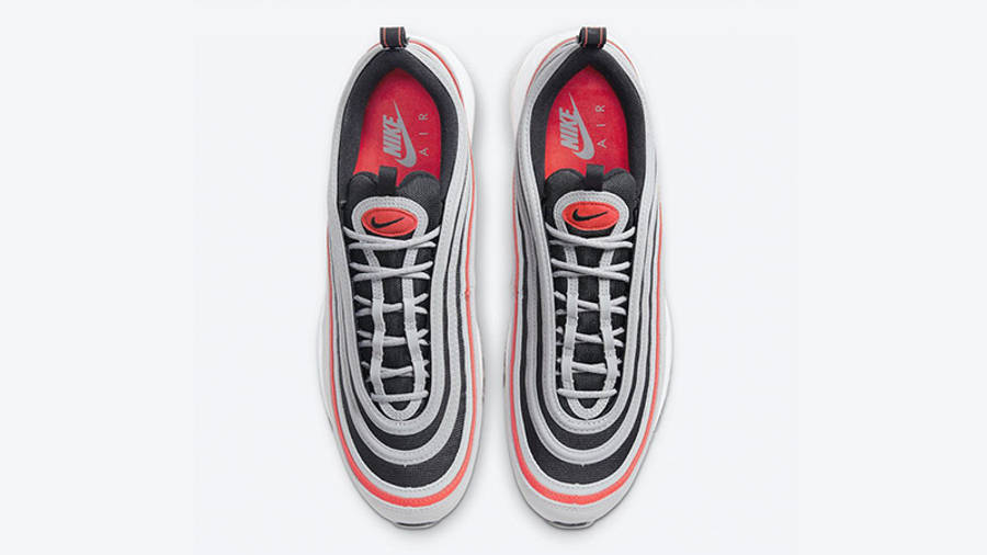 Nike Air Max 97 Wolf Grey Radiant Red DB4611-002 middle