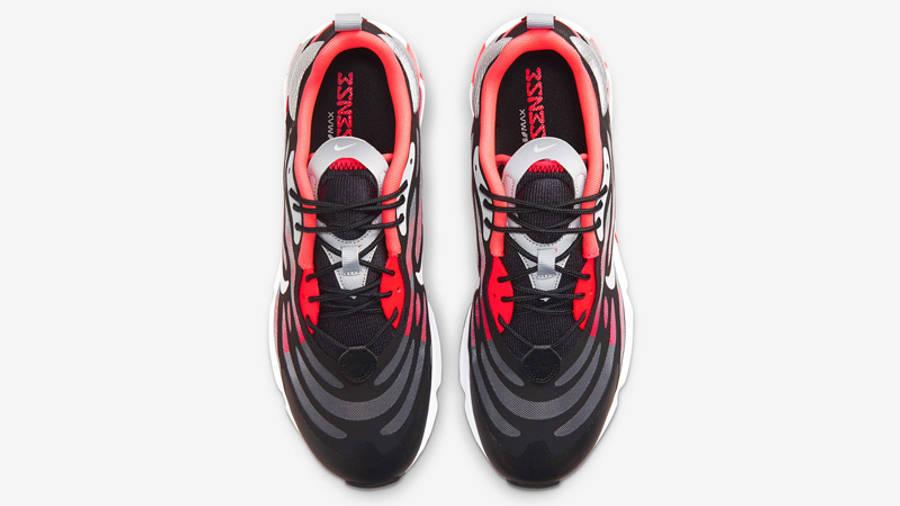 Nike Air Max Exosense Black Radiant Red Middle