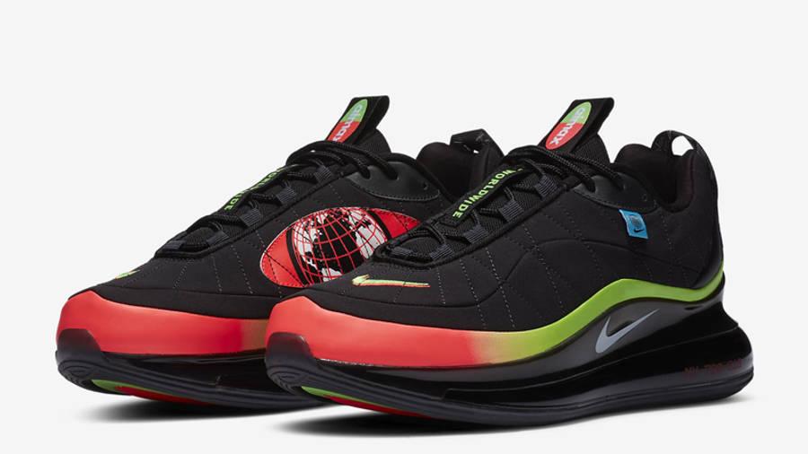 Nike Air Max MX-720-818 Worldwide Black Front