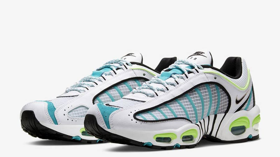 Nike Air Max Tailwind 4 SE White Ghost Green Front