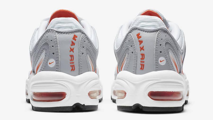 Nike Air Max Tailwind 4 White Orange Blaze Back