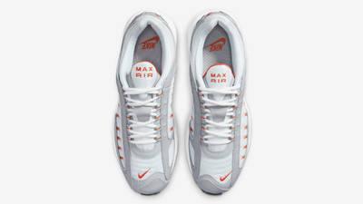 Nike Air Max Tailwind 4 White Orange Blaze Middle