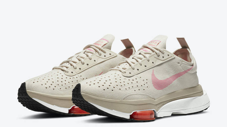 Nike Air Zoom Type Light Orewood Brown Pink Front