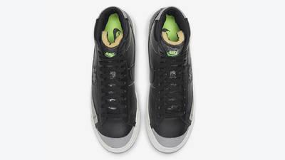Nike Blazer Mid 77 Vintage Black Smoke Grey Middle