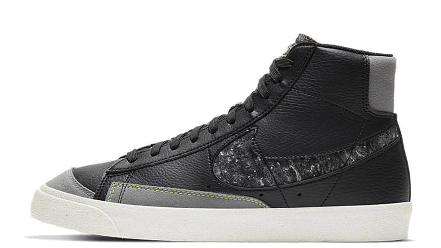 Nike Blazer Mid 77 Vintage Black Electric Green