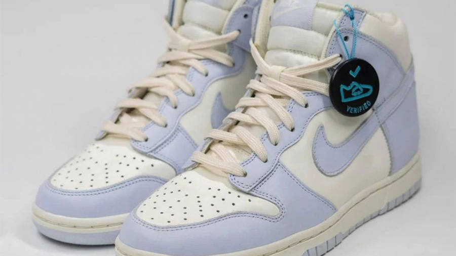 Nike Dunk High Football Grey First Look Front