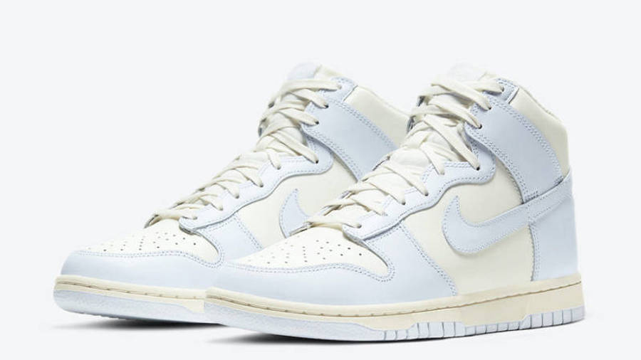 Nike Dunk High Football Grey Front