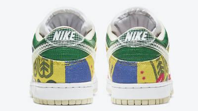 Nike Dunk Low City Market Back