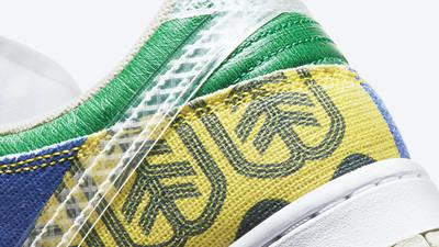 Nike Dunk Low City Market Closeup