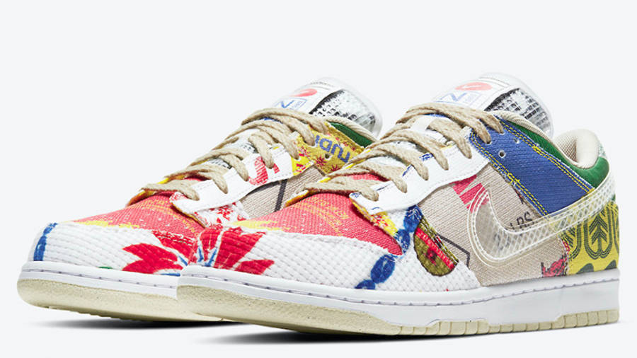 Nike Dunk Low City Market Front