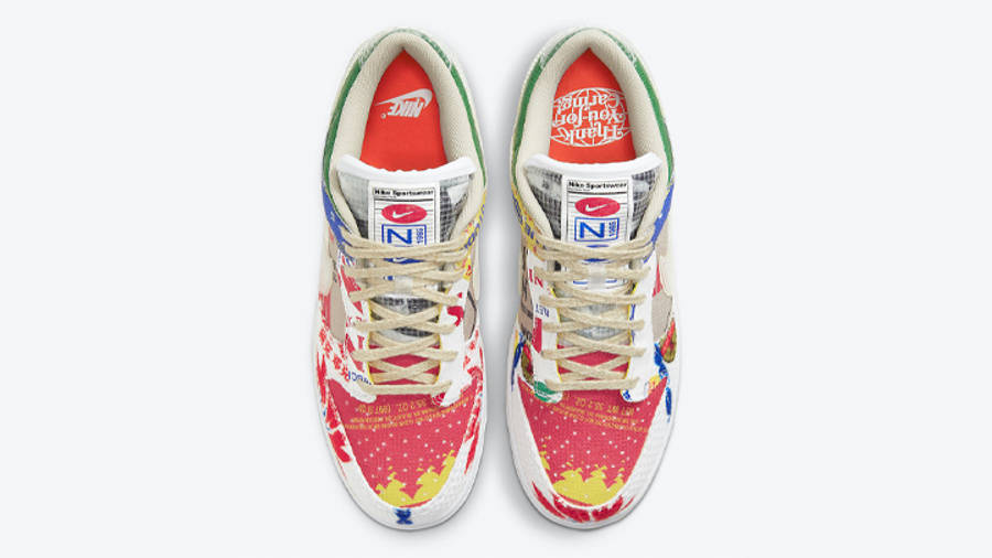 Nike Dunk Low City Market Middle