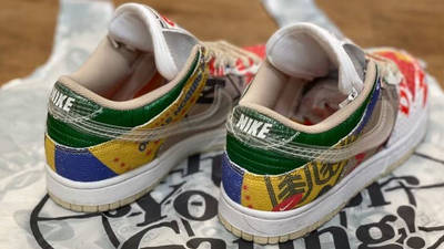 Nike Dunk Low Thank You For Caring DA6125-900 back