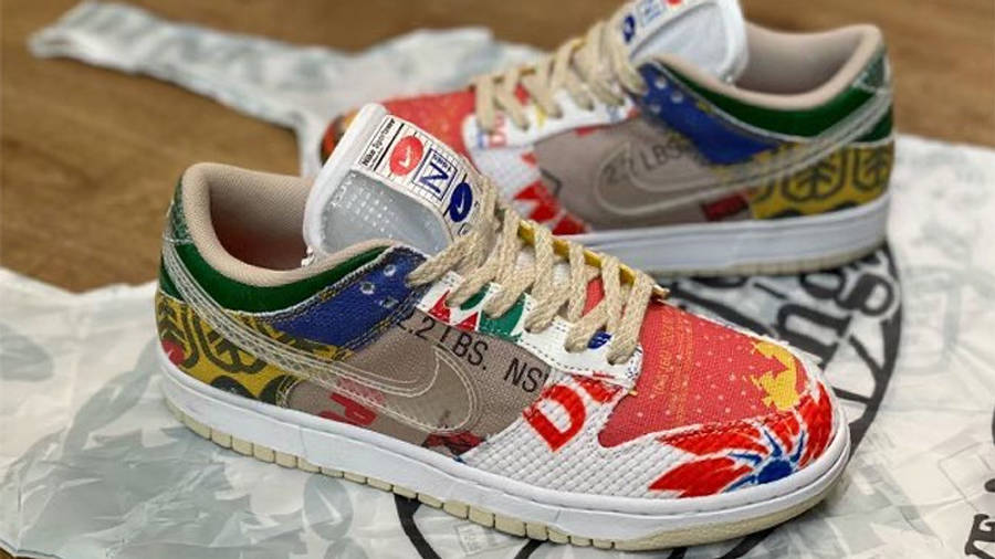 Nike Dunk Low Thank You For Caring DA6125-900 side