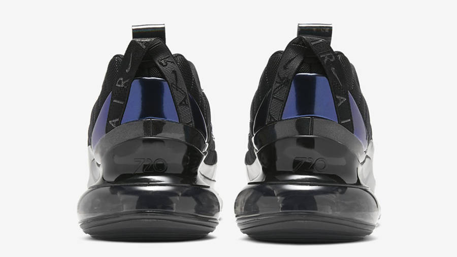 Nike MX-720-818 Black Metallic Cool Grey Back
