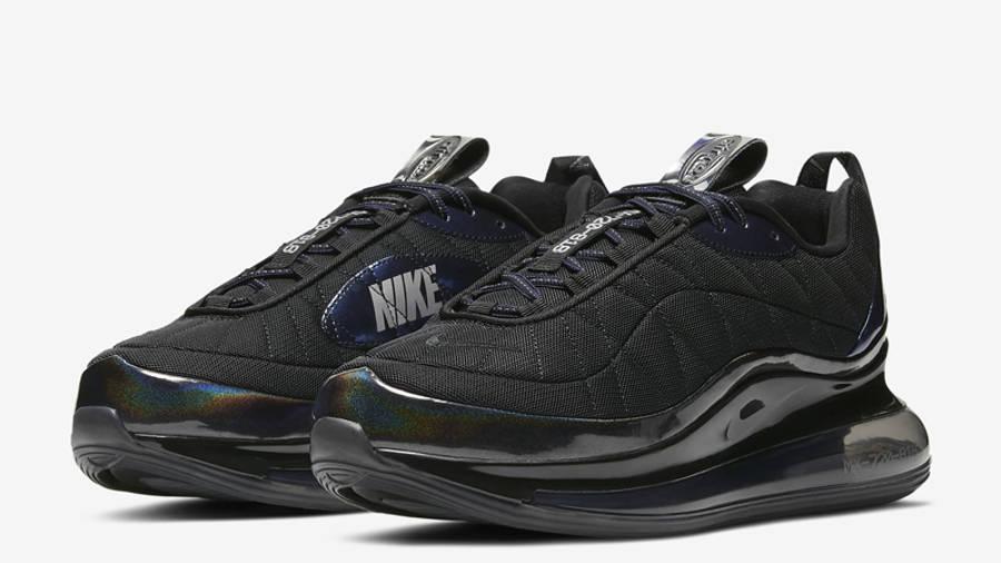 Nike MX-720-818 Black Metallic Cool Grey Front