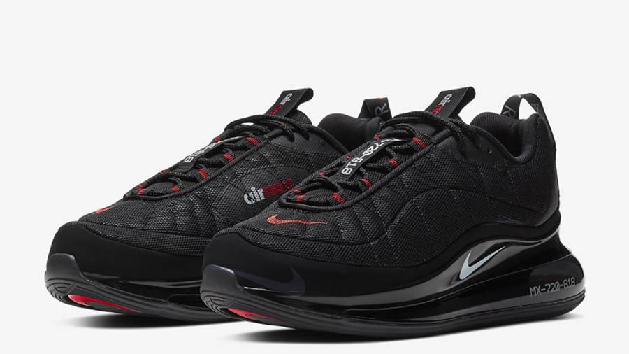 Nike MX-720-818 Black University Red Front