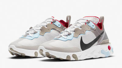 Nike React Element 55 Enigma Stone CU1466-001 front