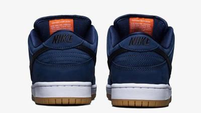 Nike SB Dunk Low Midnight Navy Back