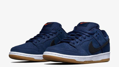 Nike SB Dunk Low Midnight Navy Front