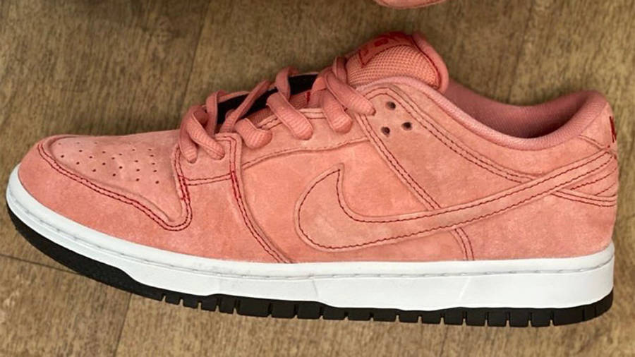 Nike SB Dunk Low Pink Pig First Look Side