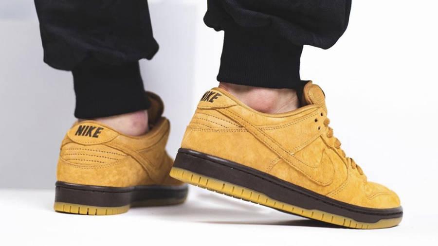 Nike SB Dunk Low Wheat Mocha | Where To Buy | BQ6817-204 | The ...