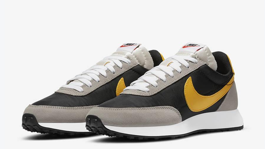 Nike Tailwind 79 Black University Gold Front