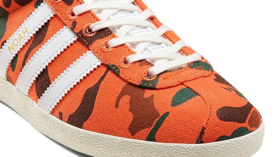 Noah x adidas Gazelle Camo Closeup
