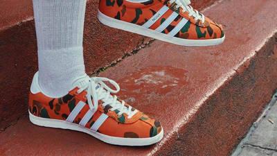 Noah x adidas Gazelle Camo On Foot