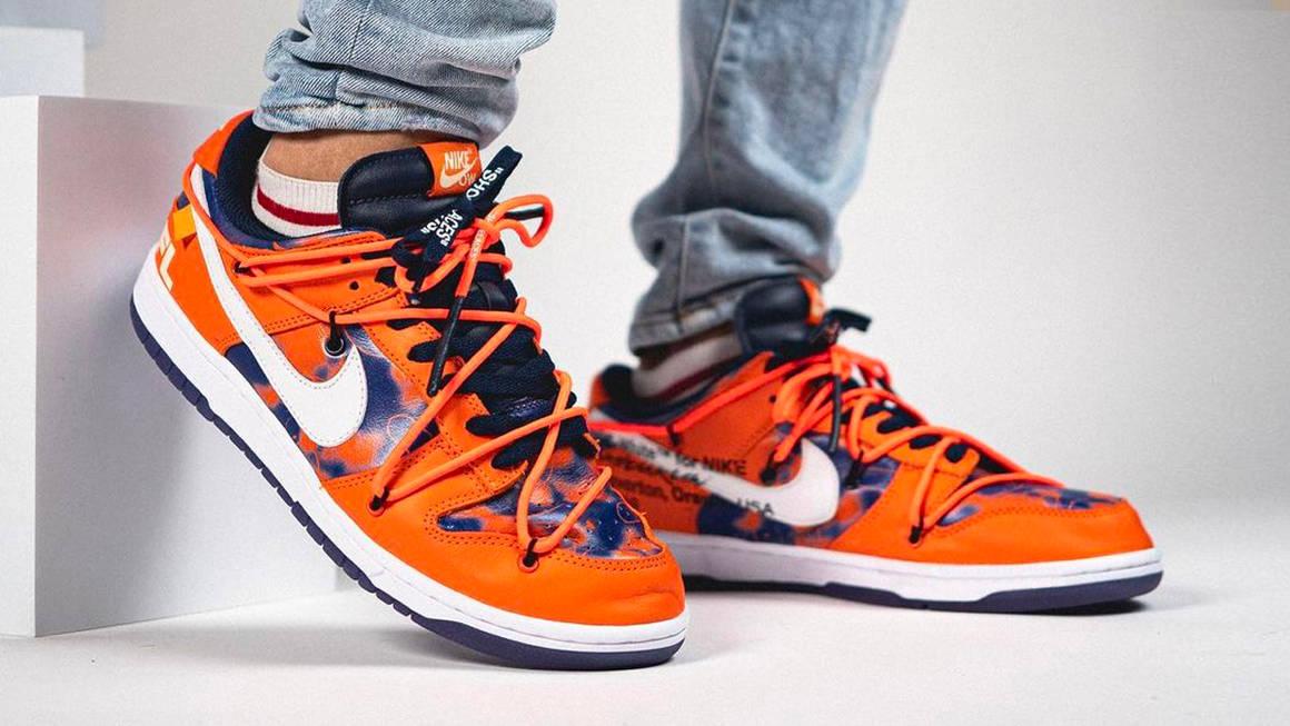 """Futura x Off-White x Nike SB Dunk Low """"Orange"""""""