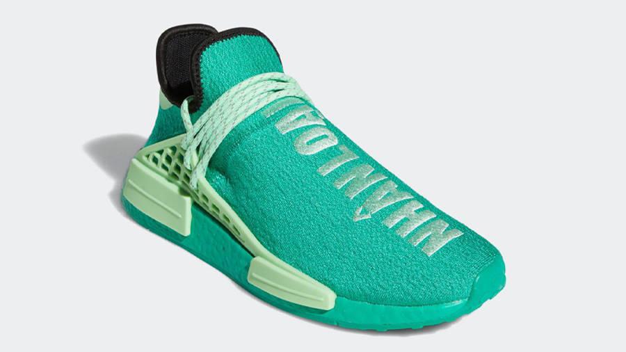 Pharrell x adidas NMD Hu Green | Where To Buy | GY0089 | The Sole ...