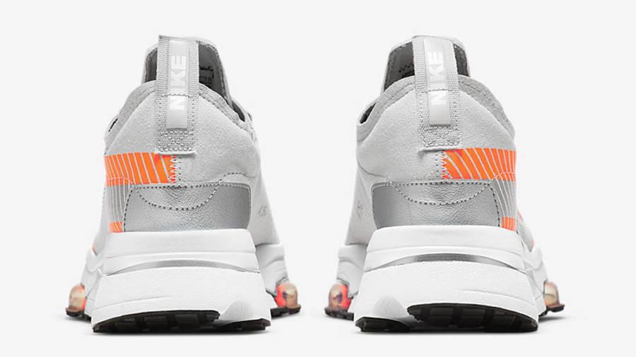 3M x Nike Air Zoom Type SE Light Bone Total Orange Back