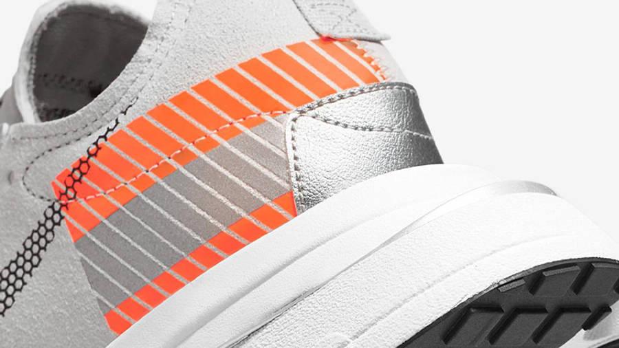 3M x Nike Air Zoom Type SE Light Bone Total Orange Closeup