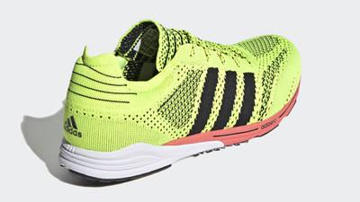 adidas Adizero Prime Solar Yellow Back