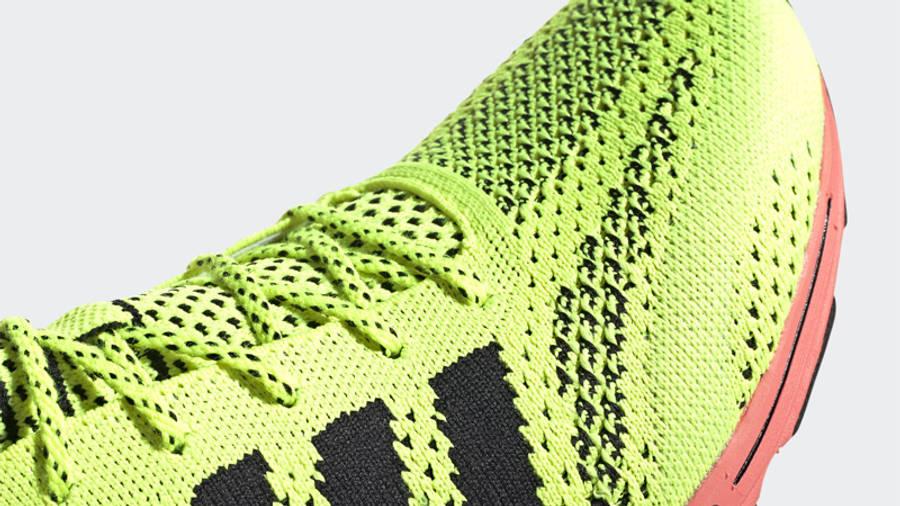 adidas Adizero Prime Solar Yellow Closeup