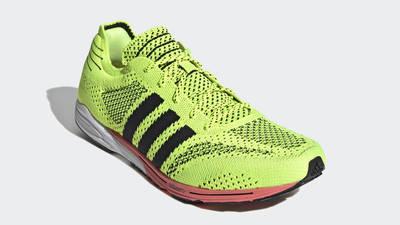 adidas Adizero Prime Solar Yellow Front