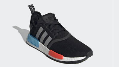 adidas NMD R1 Core Black Silver Metallic Front