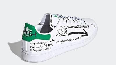 adidas Stan Smith Sharpie Graffiti GV9800 back