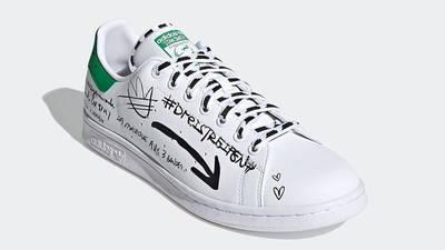 adidas Stan Smith Sharpie Graffiti GV9800 front