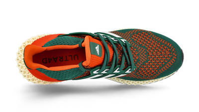 adidas Ultra 4D Miami Hurricanes Middle