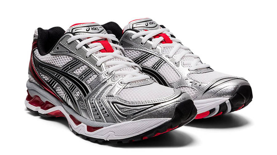 ASICS GEL-Kayano 14 UB1-S White Classic Red Front