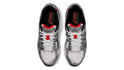 ASICS GEL-Kayano 14 UB1-S White Classic Red Middle