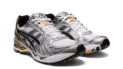 ASICS GEL-Kayano 14 White Pure Gold Front