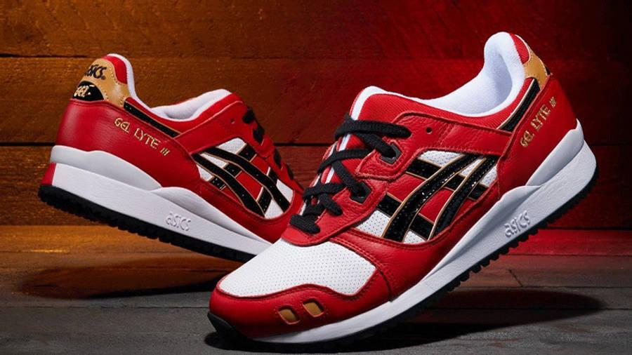 ASICS GEL-Lyte 3 Daruma Classic Red Black First Look