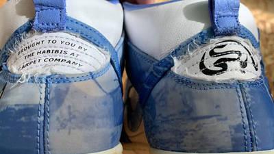 Carpet Company x Nike Dunk High White Royal Pulse Back