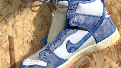 Carpet Company x Nike Dunk High White Royal Pulse First Look