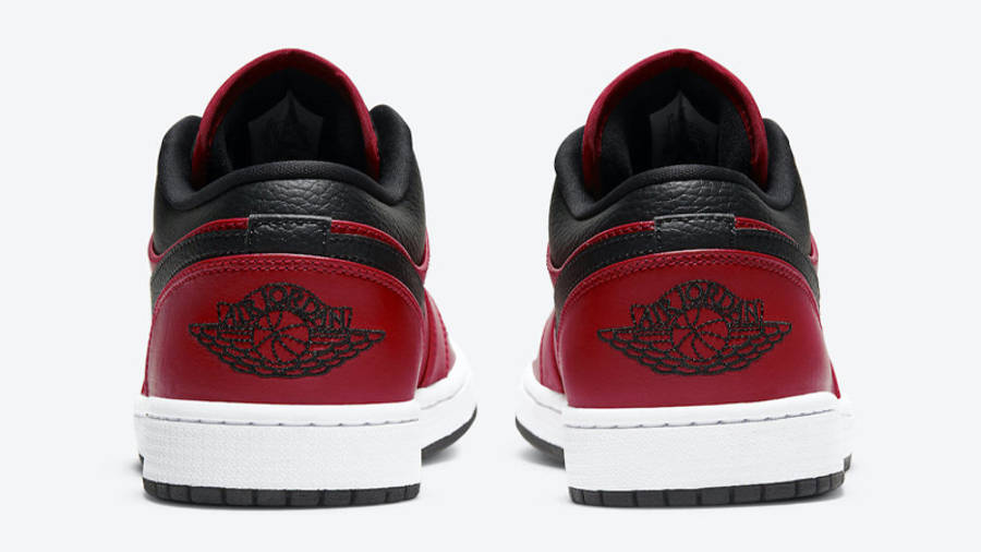 Jordan 1 Low Gym Red Black   Where To Buy   553558-605   The Sole ...