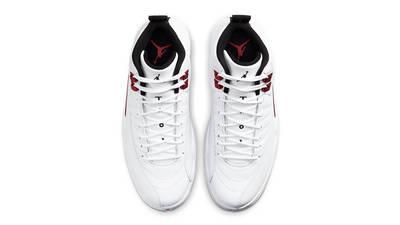 Jordan 12 Twist White University Red Middle