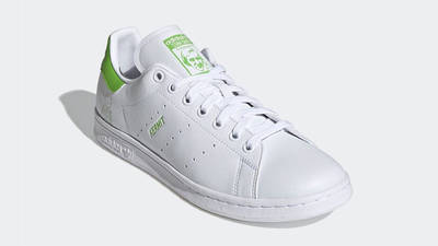 Kermit the Frog x adidas Stan Smith White Lime Green Front
